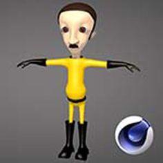 3D ve Animasyon, Cinema 4D ile Karakter Tasarımı video eğitimi, video dersler ile öğren