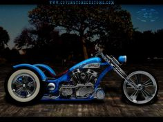 TRIKE motorbike bike motorcycle chopper