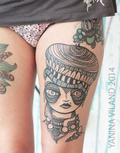 follow the colours tattoo friday Yanina Viland 24 Incríveis traços e diferentes estilos nas tatuagens de Yanina Viland