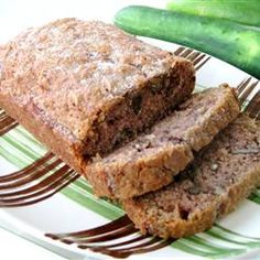 Cucumber Nut Bread ... {minus the nuts for us. never knew you could make bread using cucumbers, can't wait to try this!}