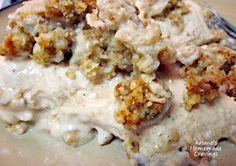 Ariane's Homemade Cravings: Stuffing Chicken