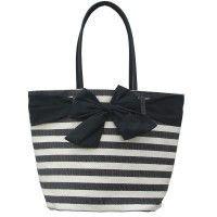 Le Forge Resort Bow Bag Black