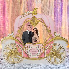 Fairytale Romance Carriage Photo Prop
