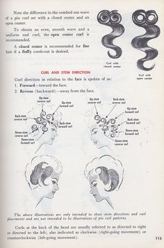 curl and stem Fancy Hairstyles, Vintage Hairstyles, Braided Hairstyles, Hair Patterns, Skirt Patterns Sewing, Beauty Spa, Beauty Hacks, Curly Hair Styles, Natural Hair Styles