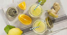 L' estratto multi-vitaminico è perfetto per l'inverno, per fare il pieno di vitamine e di rinforzanti come miele e zenzero.