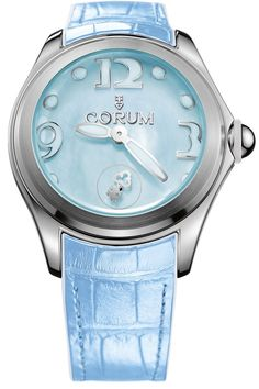 @corumwatches Bubble Mother of Pearl Ladies Blue #add-content #basel-16 #bezel-fixed #bracelet-strap-alligator #brand-corum #case-depth-16-5mm #case-material-steel #case-width-42mm #delivery-timescale-1-2-weeks #dial-colour-blue #gender-ladies #luxury #movement-automatic #new-product-yes #official-stockist-for-corum-watches #packaging-corum-watch-packaging #style-dress #subcat-bubble #supplier-model-no-l295-03047 #warranty-corum-official-3-year-guarantee #water-resistant-100m