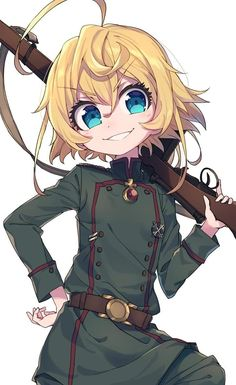 The Saga of Tanya the Evil, Tanya Degurechaff / デグさん / May 2019 - pixiv Anime Neko, Kawaii Anime Girl, Manga Anime, Anime Art, Tanya The Evil, Anime Military, Pretty Anime Girl, Waifu Material, Anime Shows