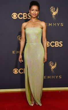 Gugu Mbatha-Raw from 2017 Emmys Red Carpet Arrivals