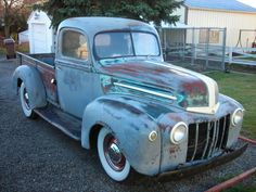 Projects Oh boy, got a new project! 1946 Ford - THE H.A.M.B.