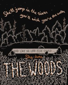 She Does The Woods - The Last Shadow Puppets