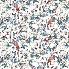 Wild Berry Pattern on Behance