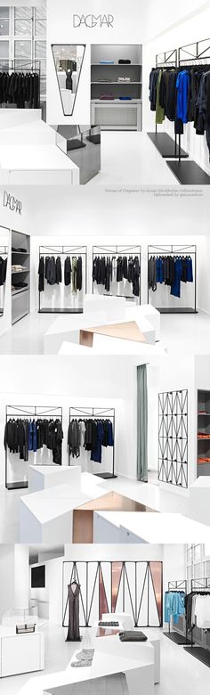 House of Dagmar by Guise Stockholm_Stockholm Retail Space Constructed from Triangles_Yellowtrace