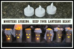 Halloween Crafts using Toilet Paper Rolls | Blog Me Mom