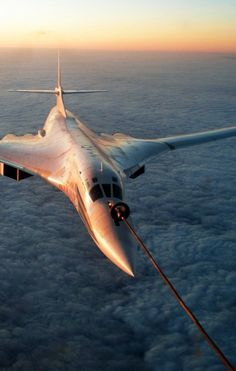 Not Concorde, No! But a Tu-160 Blackjack. (A GREAT photo!)