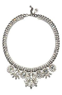 Absolutely stunning! Venessa Arizaga 'My Fair Lady' Statement Necklace