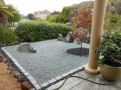 I have always wanted my own zen garden.  how cool would this be.