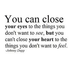 close your heart...