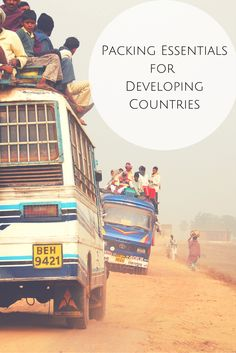Packing tips for travel to developing countries
