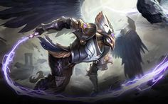Wallpaper Kaja Commandment Skin Mobile Legends HD for PC Mobile Legend Wallpaper, Hd Wallpaper, Wallpapers, Holy Priest, Hiding In The Bushes, White Crane, The Legend Of Heroes, Near To You, Games Images