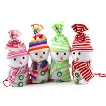 New snowman Christmas holiday gifts gift bags candy bags Christmas fruit bag