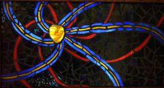Solar Winds, illuminated with pulsing LED lights Solar, Mosaic, Fair Grounds, Led, Lights, Mosaics, Lighting, Rope Lighting, Candles
