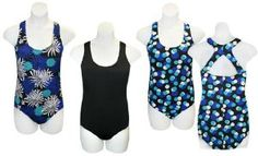 Women'S Plus Size Racer Back 1 Piece Swimsuit Asst Pack) 1 Piece Swimsuit, Plus Size Swimwear, Cool Style, Swimsuits, One Piece, Fashion Tips, Color, Fashion Hacks, Style Fashion