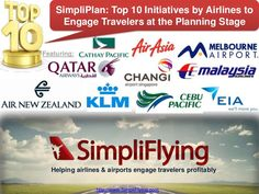SimpliPlan: Top 10 Initiatives by Airlines to Engage Travelers at the Planning Stage [Slide Presentation] Cathay Pacific, Air New Zealand, Risk Management, Travel And Leisure, Business Travel, Travel Style, Stage, How To Plan, Motivation