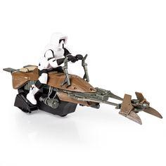 Spin Master - Air Hogs Star Wars Remote Control Speeder Bike