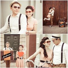 Pre wedding in perth by sidlefaye : Vuong + Ngoc Anh Pre Wedding Poses, Pre Wedding Photoshoot, Wedding Pics, Trendy Wedding, Wedding Shoot, Photoshoot Ideas, Vintage Engagement Photos, Vintage Couples, Prenup Outfit Couple