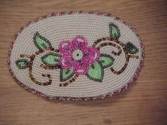 Athabascan beadwork by Madeline Krol from Galena, Alaska