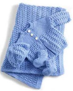 Baby Knitting Patterns Lullaby Layette By Lion Brand Yarns – Free Crochet Pattern S… Layette Pattern, Baby Layette, Baby Newborn, Newborn Hats, Baby Onesie, Knit Baby Booties, Lion Brand Yarn, Knitting For Kids, Knitting Yarn