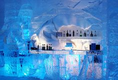 Be a patron at an ice bar