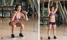 Treino power pró-músculos da Bella Falconi