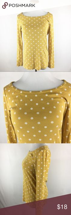 Banana Republic Yellow Long Sleeve Top Medium Banana Republic Yellow Long Sleeve Top Medium great condition Banana Republic Tops Blouses