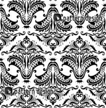Seamless Gothic Pattern Design  Designer: Yenty Jap    Available as a vector file on www.patterndesigns.com