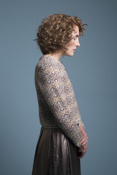 Delta cardigan patterncard kit by Jade Starmore