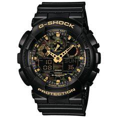 Relógio Casio Masculino G-Shock - GA100CF1A9DRU | Bruna Tessaro Joias - brunatessaro