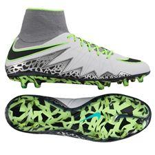 ef4198e6dc77 Nike Hypervenom Phantom II FG Soccer Cleats (Pure Platinum Black Ghost  Green)