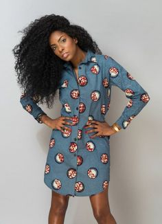 Photo of pagne africain pagne Wachsrobe Pagne Robe Chemise African Wear, African Attire, African Dress, African Print Skirt, African Print Fashion, Trendy Dresses, Fashion Dresses, Outfits Damen, Beautiful Outfits