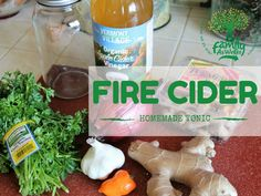 Fire Cider Tonic | F