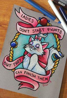 Ladies Don't Start Fights by 16Shokushu.deviantart.com on @deviantART