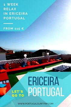 Enjoy a relax week in Portugal & stay in carefully selected accommodation with top surf spots ! What is included: 7 nights accommodation with breakfast Surf House, Beach House, Ericeira Portugal, Visit Portugal, Surf Trip, Atlantic Ocean, Bed Linens, Wi Fi, Towels