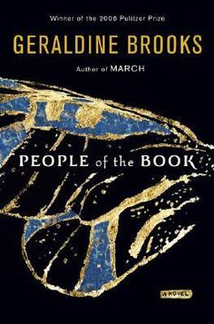 People of the Book by Geraldine Brooks, first mentioned on page 107 of The End of Your Life Book Club. Will Schwalbe brought this to a doctor's visit for his mother to read. In exchange, she brought him The Lizard Cage, by Karen Connelly