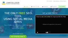How to get free Social Media Shares Easy,linkcollider
