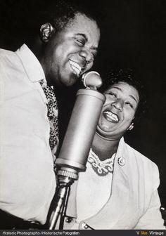Louis Armstrong & Ella Fitzgerald