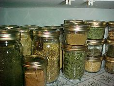 preserving herbs with actual information behind the pin!