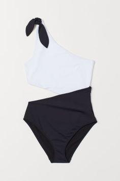 Swimwear & Beachwear For Women Cute Juniors Swimsuits, Swimsuits For Teens, Norma Kamali, H And M Bikini, One Shoulder Swimsuit, Mix And Match Bikini, Black Women Fashion, Ladies Fashion, Woman Fashion