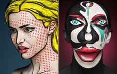 """Would make the most amazing Halloween costumes.. """"2D or not 2D,"""" Phots by Alexander Khokhlov"""