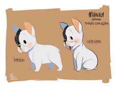Manny & Friends by Zoe Persico, via Behance