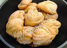 булочки сладкие на кефире без дрожжей и яиц